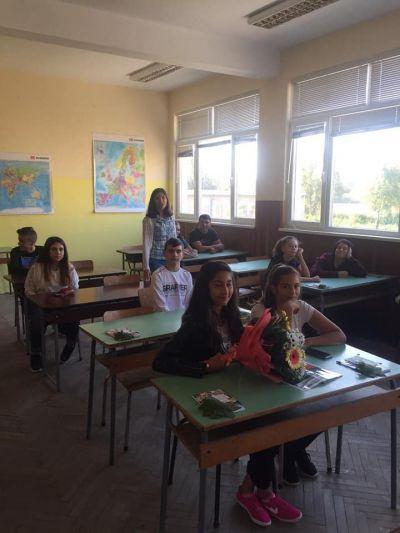 Откриване на новата учебна година 2019/2020 - ПГ Марин Попов - Севлиево